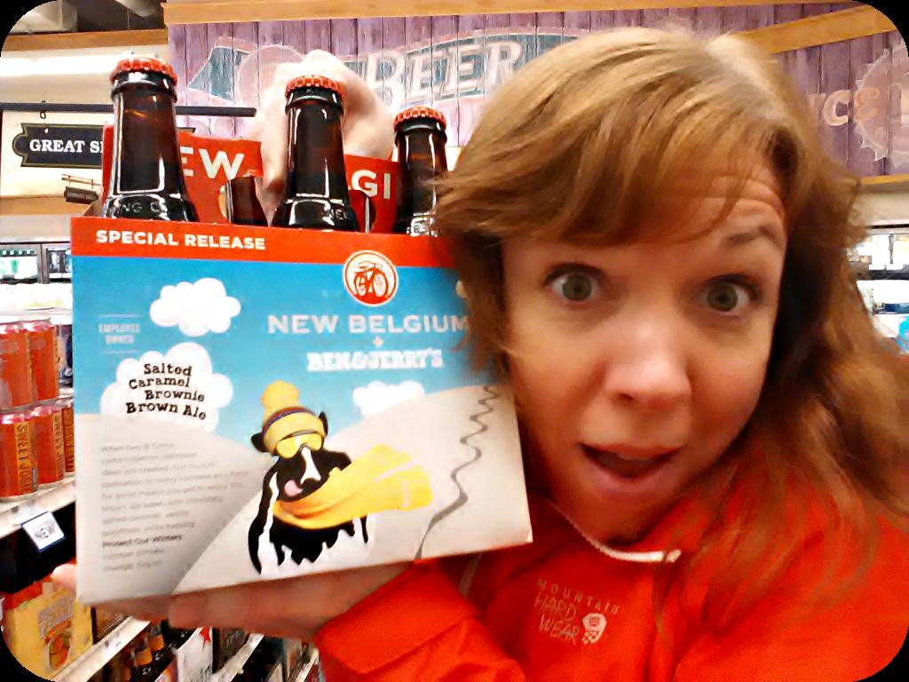 New Belgium Ben & Jerry's Beer