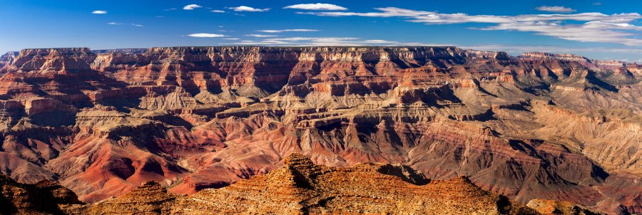 Panoramic View of Grand Canyon, USA