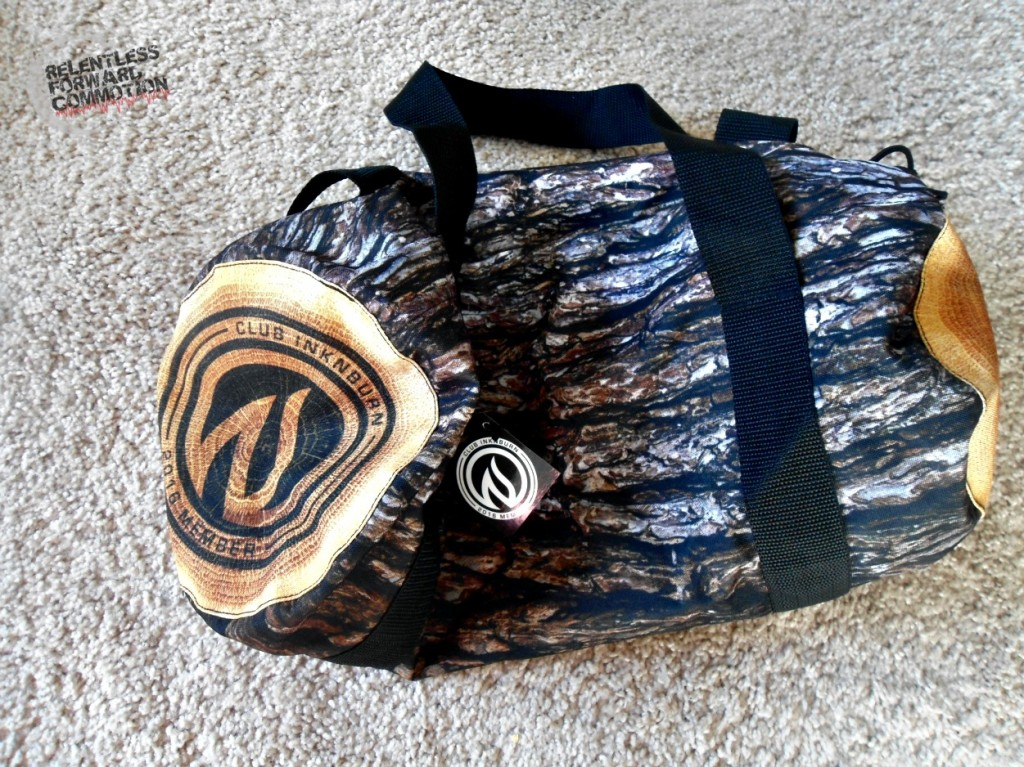 INKnBURN log bag