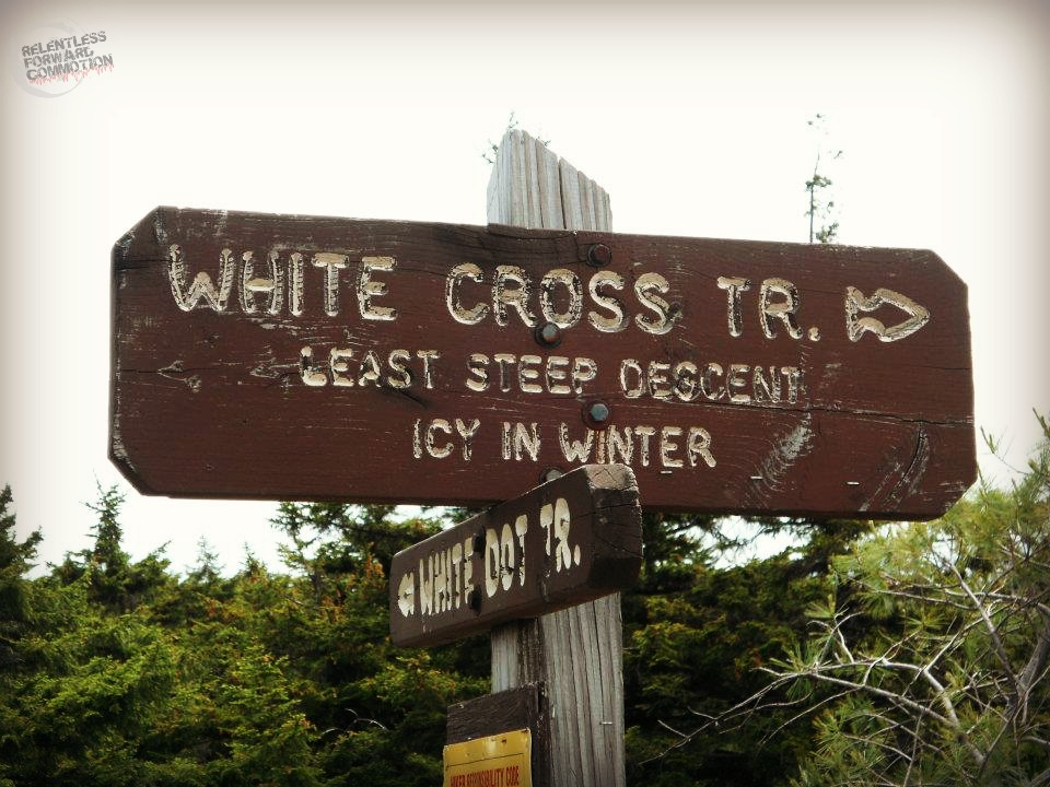 white dot trail
