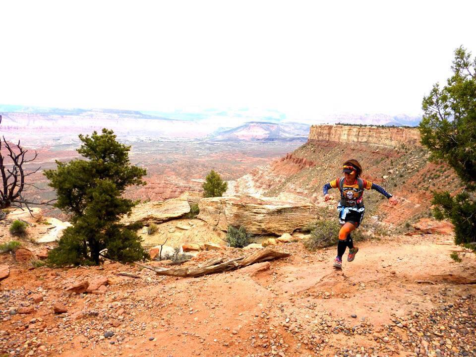 Zion, Utah trail run