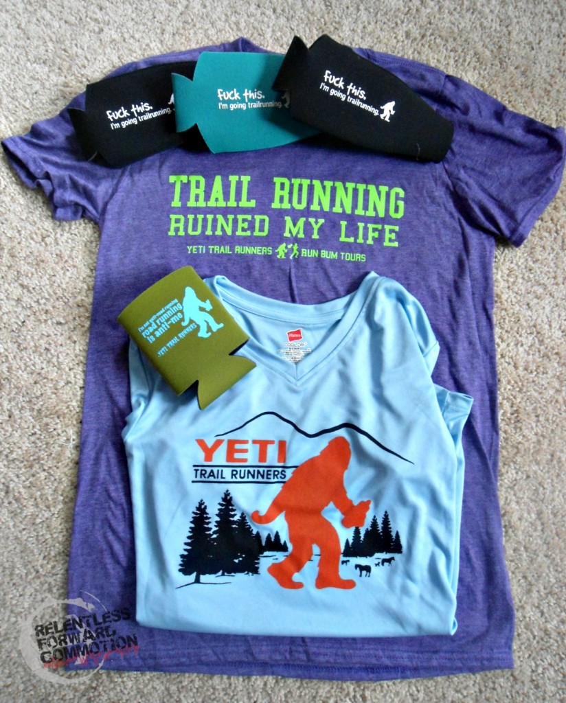 Yeti Trail Runners shirt