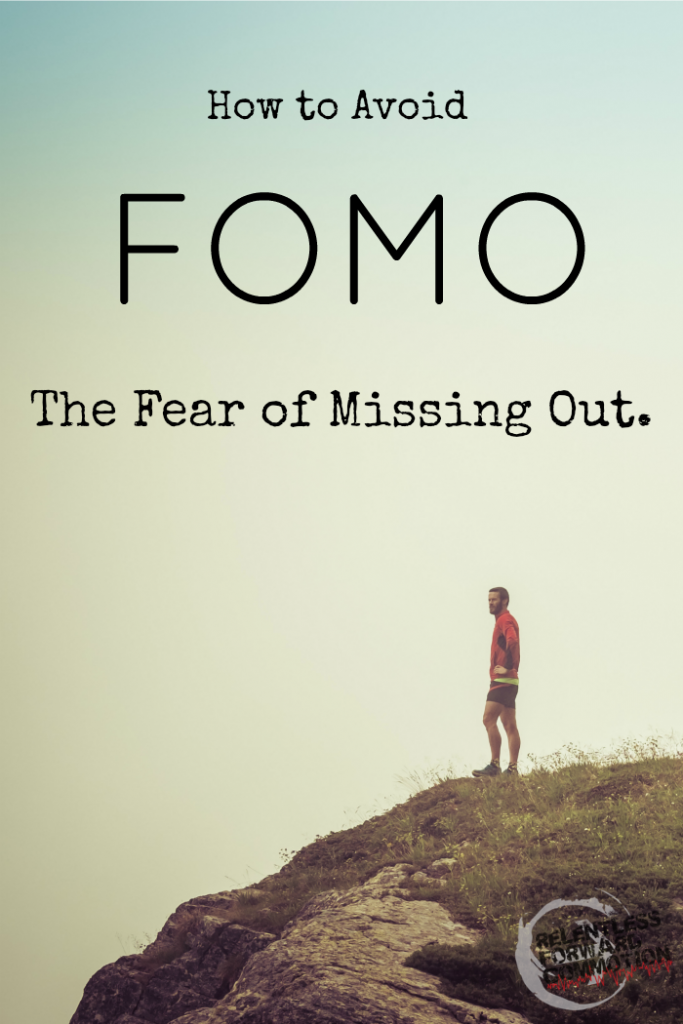 How to Avoid FOMO : The Fear of Missing Out