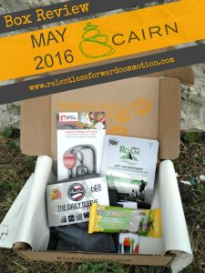 Cairn Box Review – May 2016