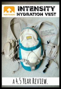 Nathan Intensity Hydration Vest – A 4.5 Year Review.