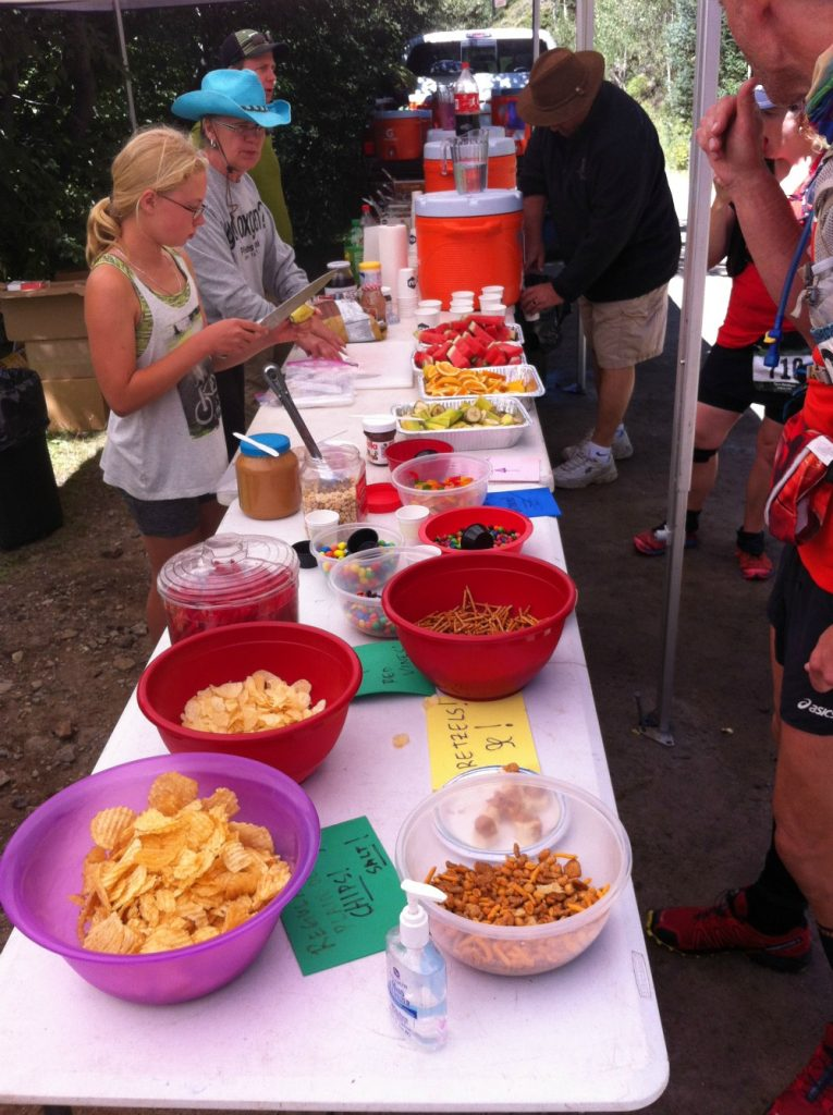 Ultramarathon Aid station