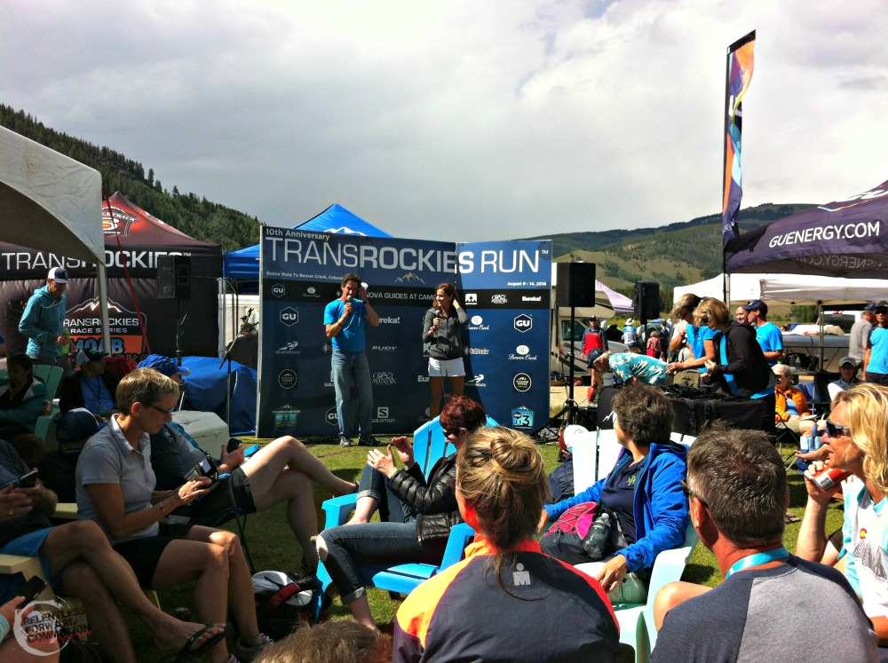 Kara Goucher at TransRockies Run