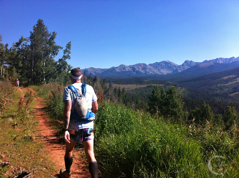 Stage 6 TransRockies Run climb