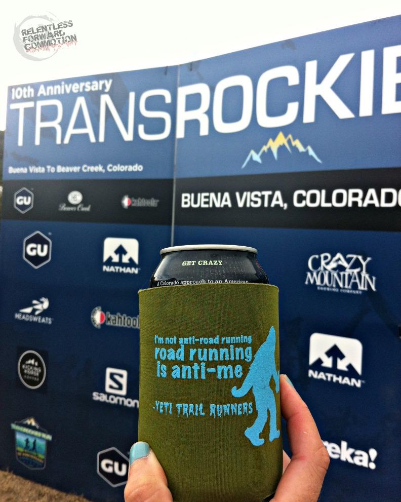 TRR2016 Crazy Mountain Beer