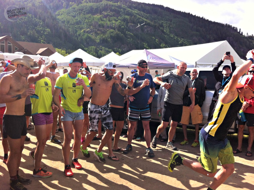 Beer Mile Transrockies Run