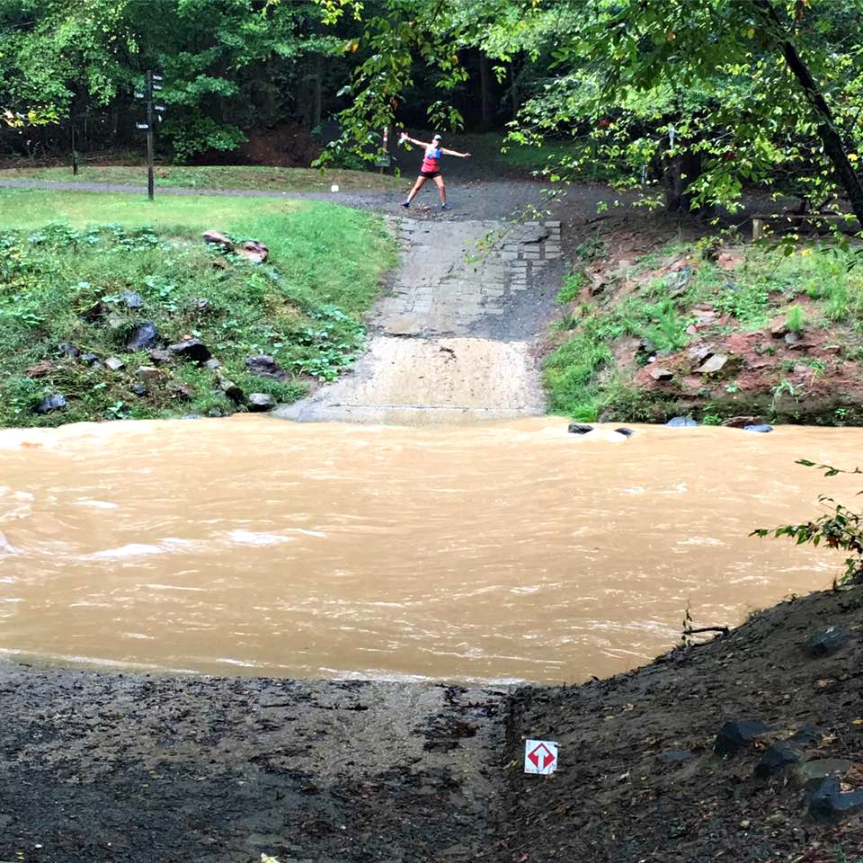 Ragnar Trail Carolinas Flood