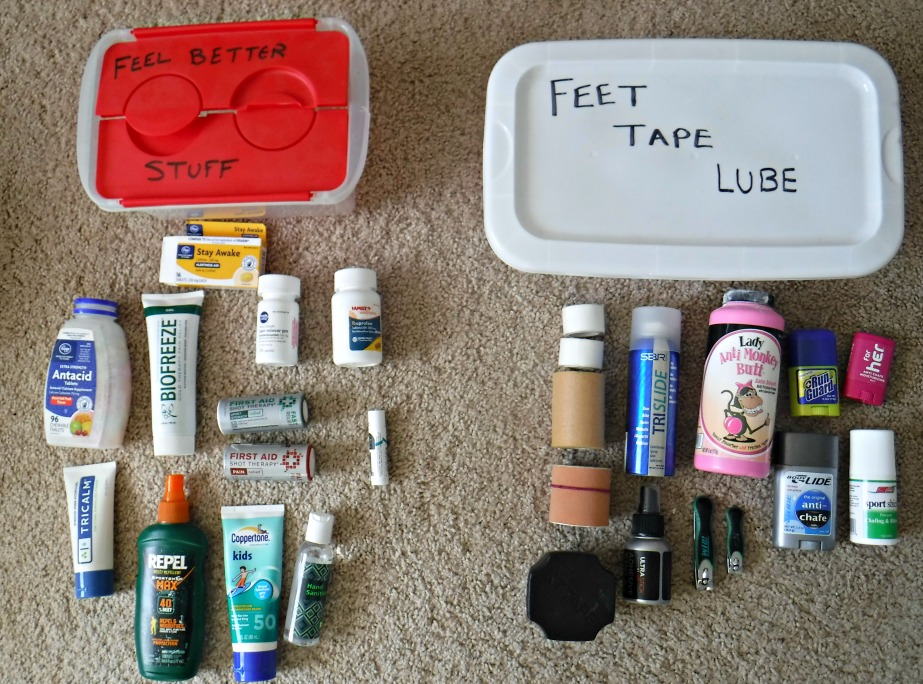 100 Mile Packing List:  What to Bring to an Ultramarathon