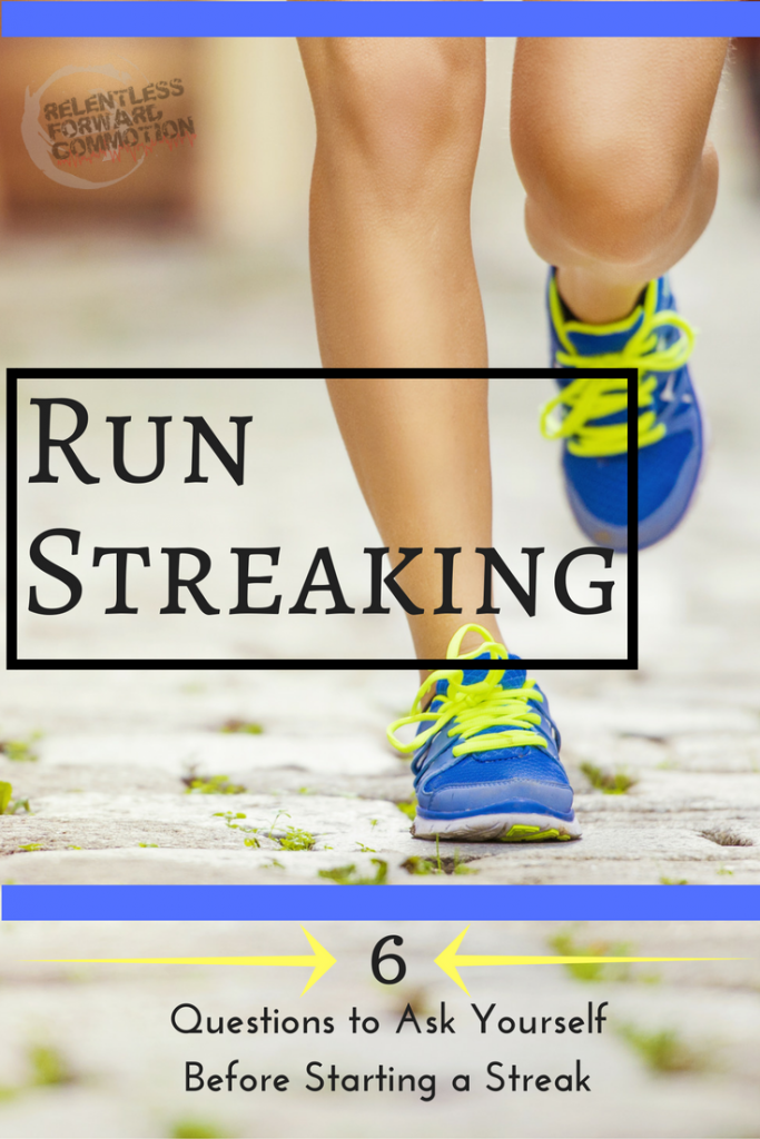 "The ""at least one mile a day"" run streak is a popular New Years resolution for runners. But is it safe? Here's what you need to know before run streaking."