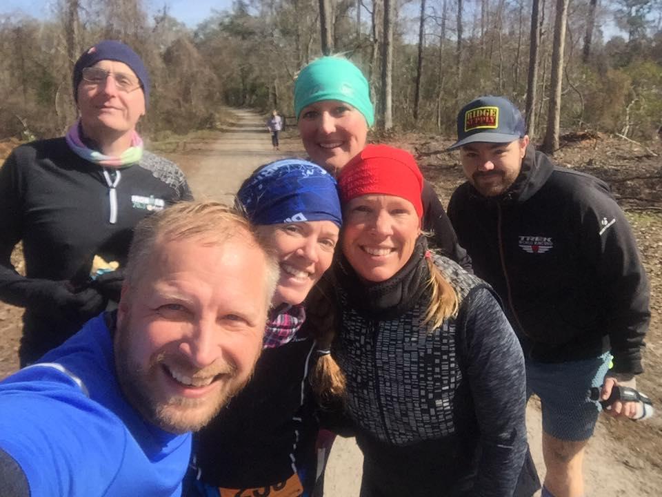 mid race selfie