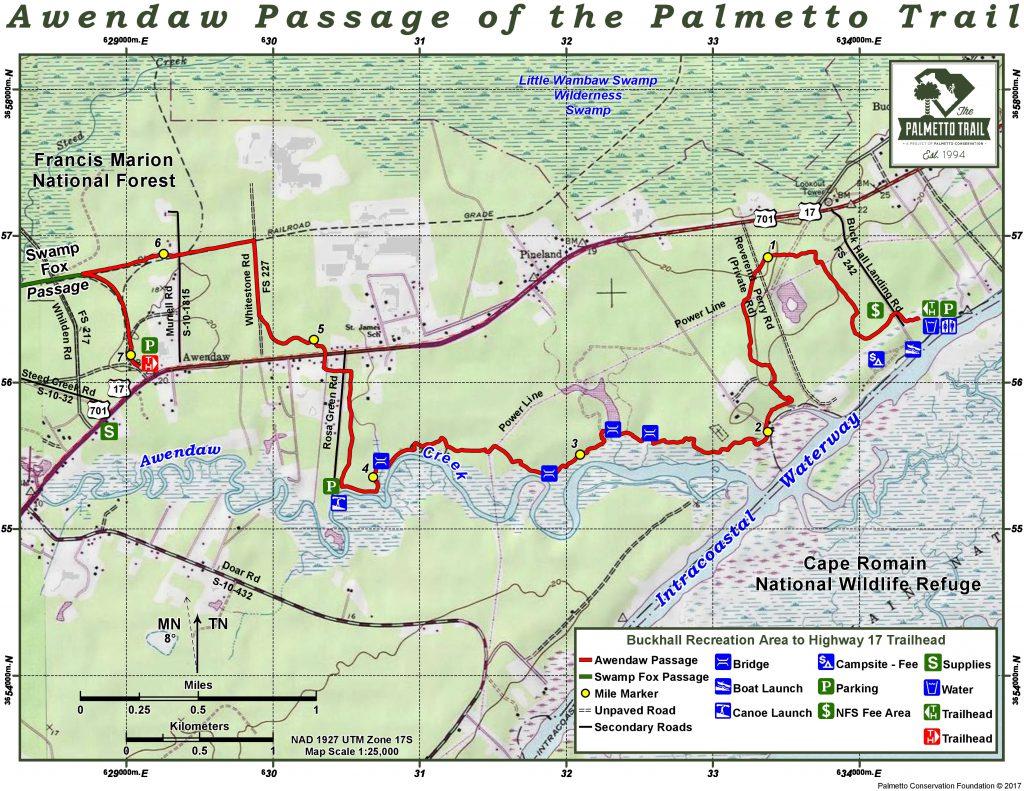 Awendaw Passage Trail