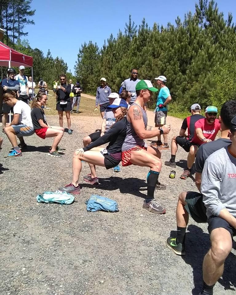 Squat Challenge Tuck Fest