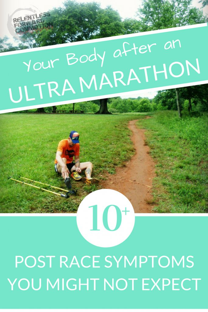 Your Body after an UltraMarathon