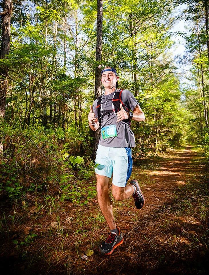 Chris Herath runs a 50K
