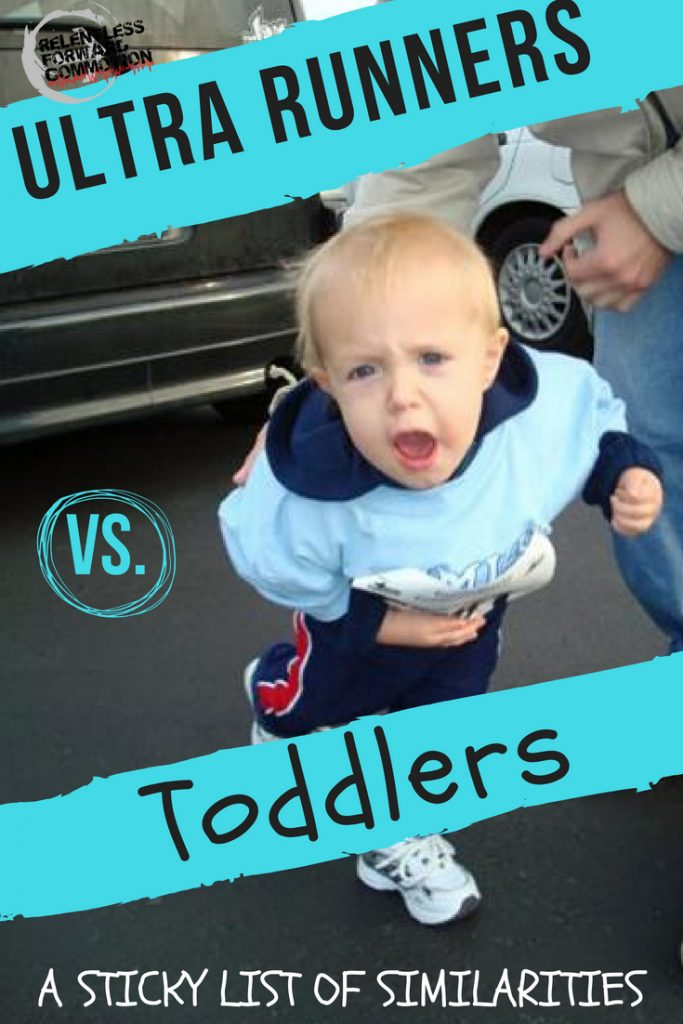 Ultra Runners vs. Toddlers