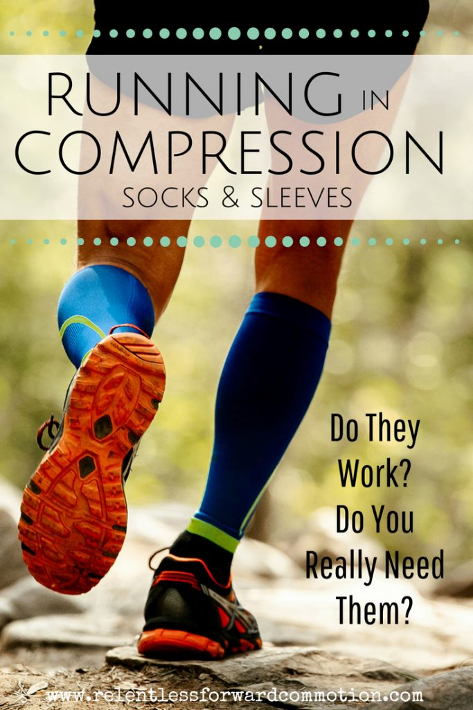Running in compression socks
