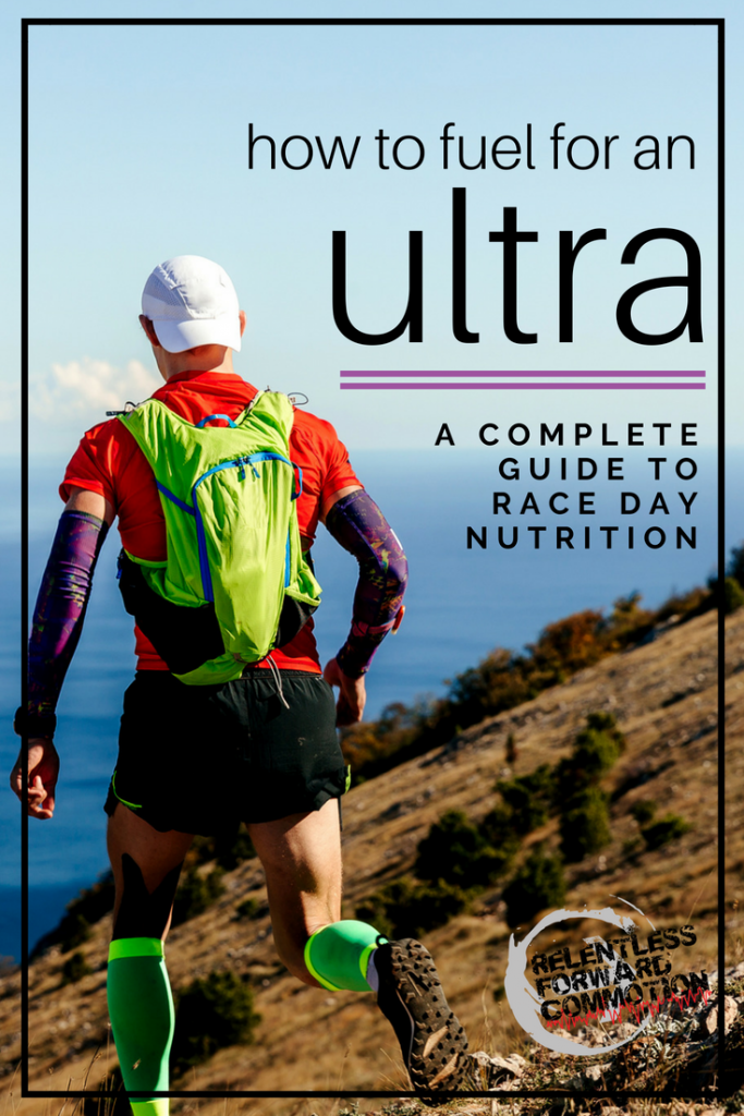 Fueling for an ultramarathon
