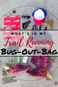 What's In My Trail Running Bug Out Bag