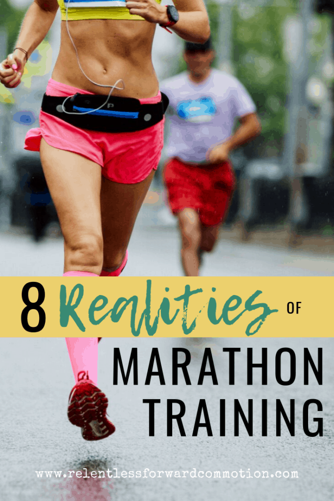 Finishing your first marathon is priceless. But before you get to the finish line, here's what you need to know about the realities of marathon training.