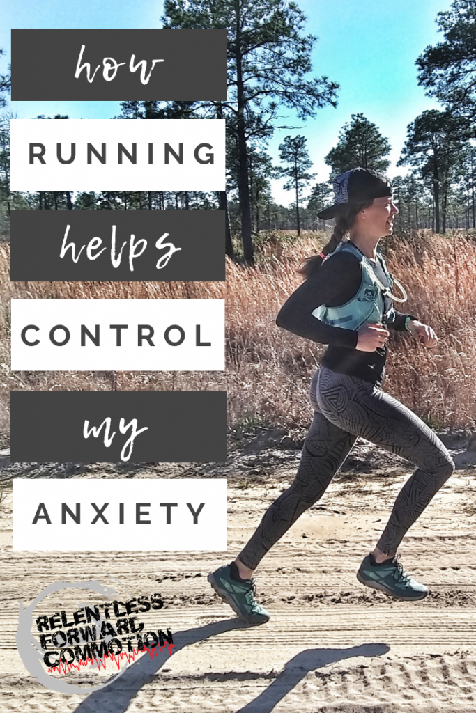 How Running Helps Control My Anxiety