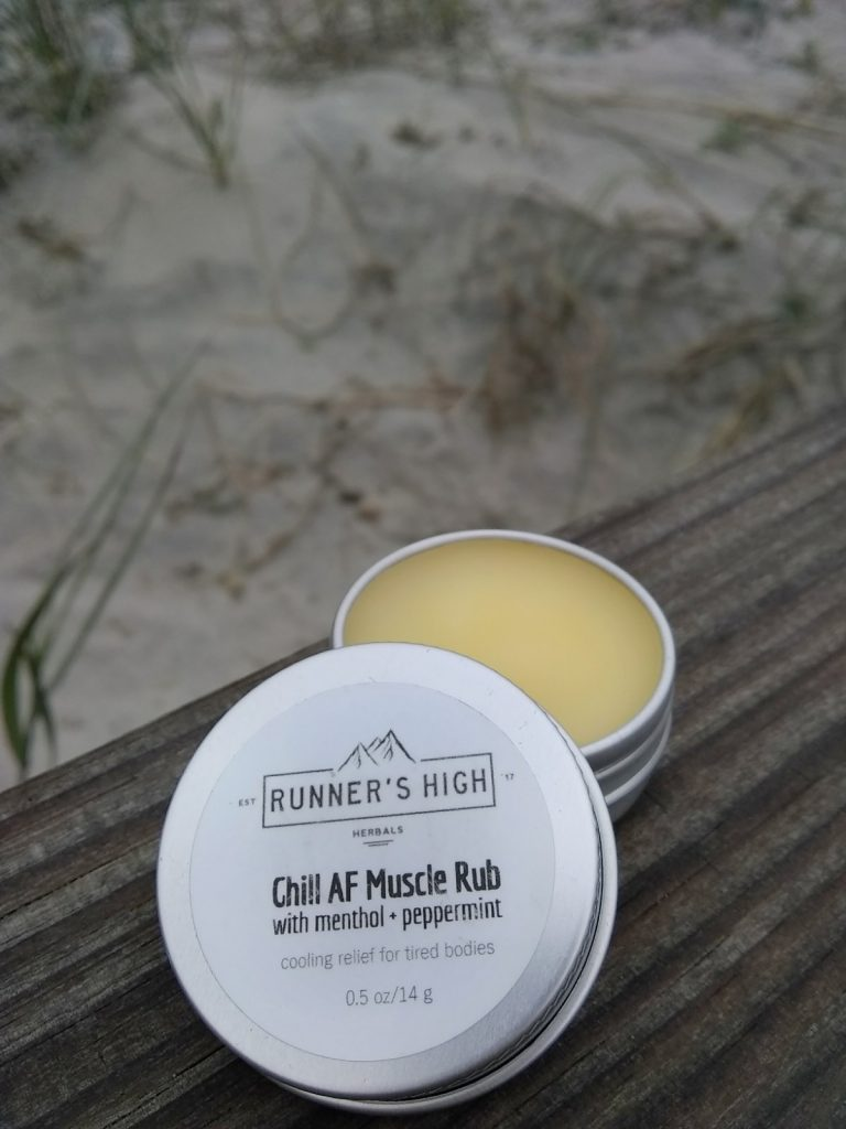 Runner's High Herbals Chill AF Muscle Rub
