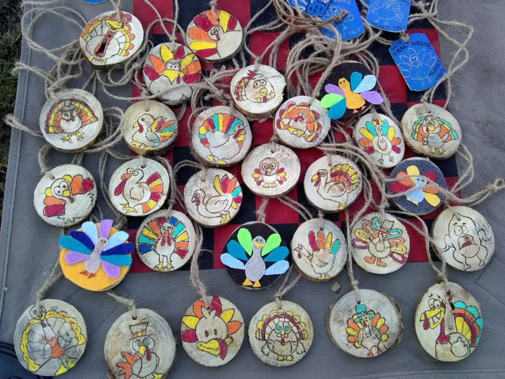 Turkey Trot medals