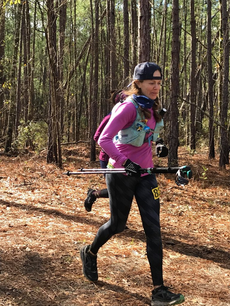 The Pros & Cons of Running with Trekking Poles - staying strong at the end of a 10 0miler