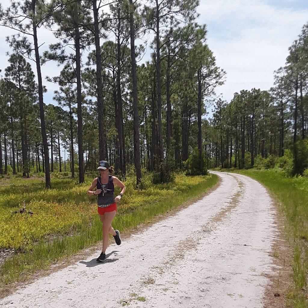 Trail Running in Myrtle Beach Lewis Ocean Bays heritage preserve