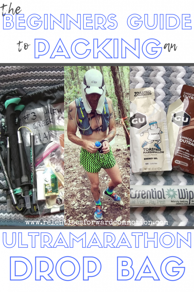 Packing an Ultramarathon Drop Bag