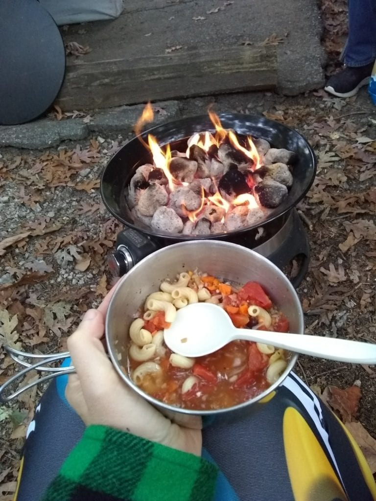 Campfire & camping soup
