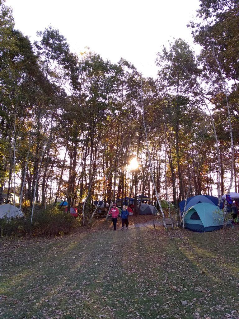 Camping at Wawayanda State Park