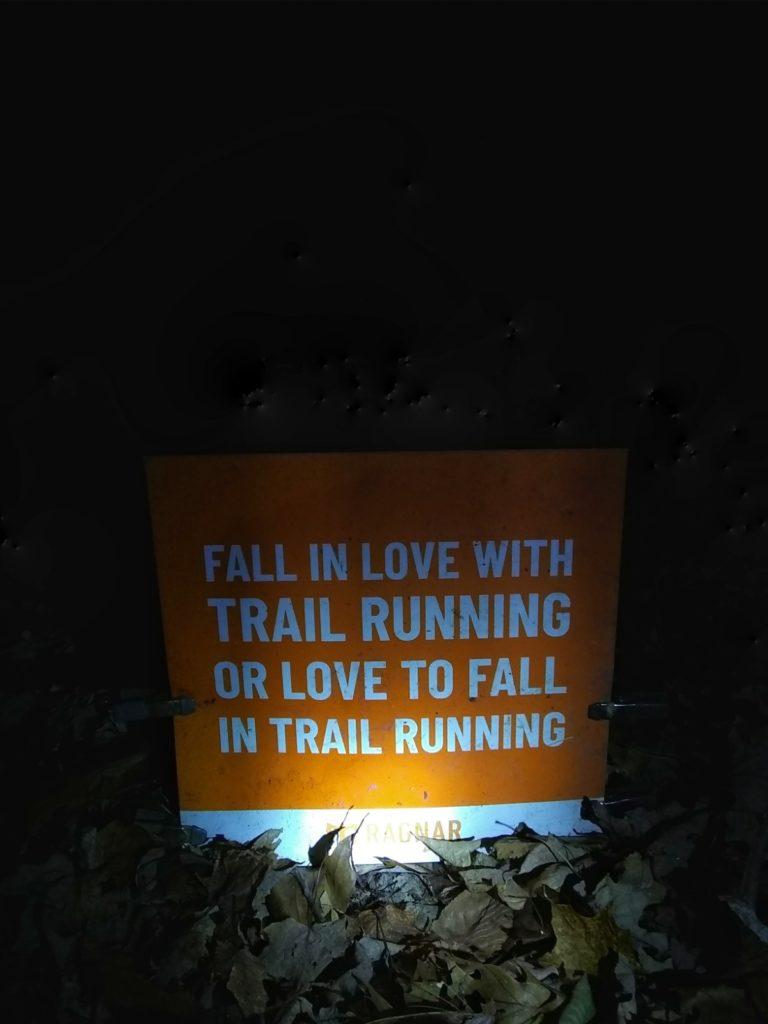 Ragnar Trail Relay Wawayanda Lake - Trail Signs