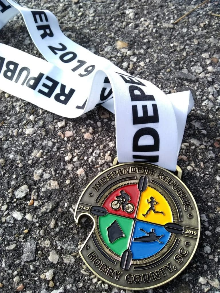 Independent Republic Adventure Race  medal