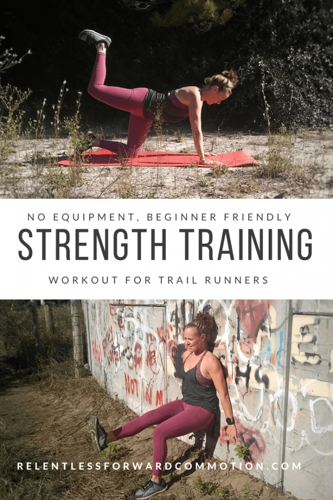 No Equipment Beginner Strength Training Workout for Trail Runners