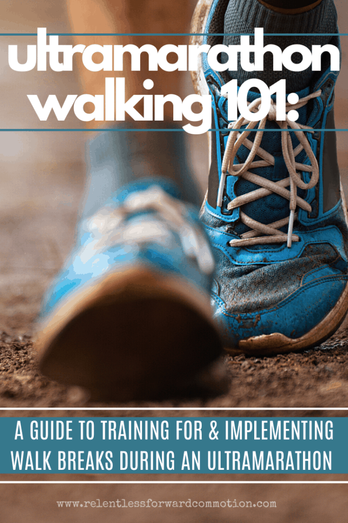 Here's a bit of a reality check for new ultra runners: you're likely going to walk during your ultramarathon.  And your walking needs practice.