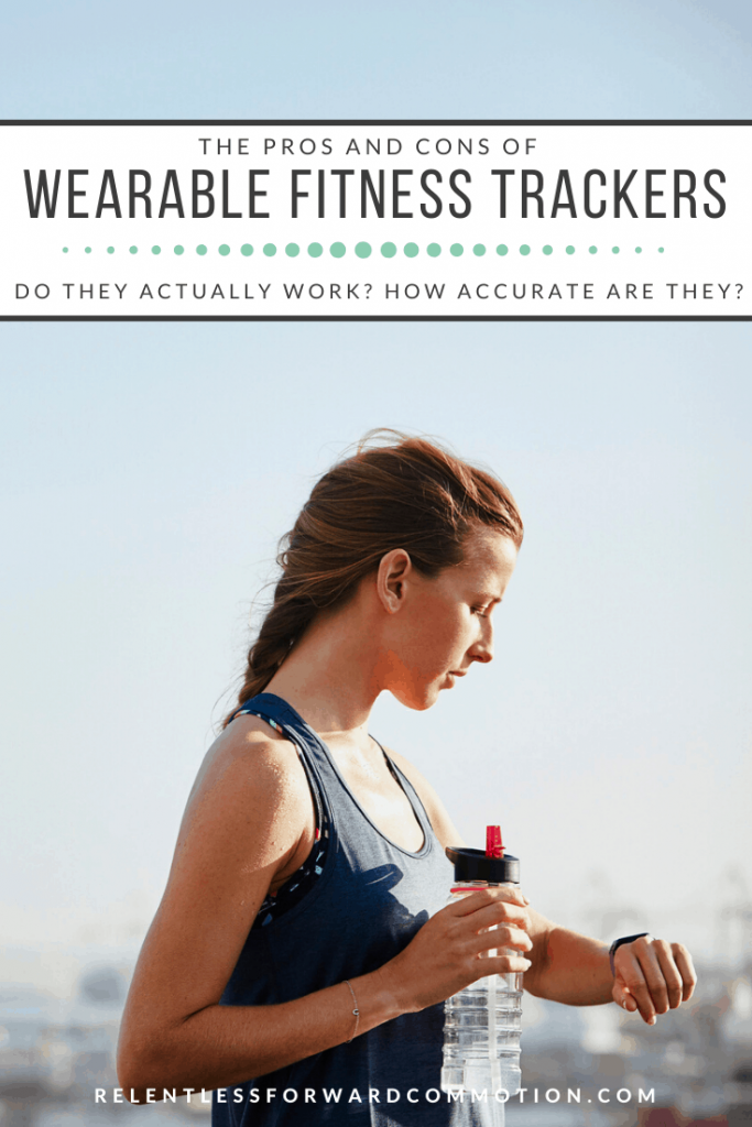 Fitness trackers have become synonymous with fitness and weight loss goals.  Are they too good to be true? Let's analyze the pros and cons of wearable fitness trackers.