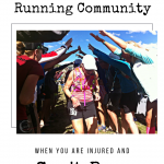 4 Ways to Stay Involved in the Running Community – When You Can't Run.