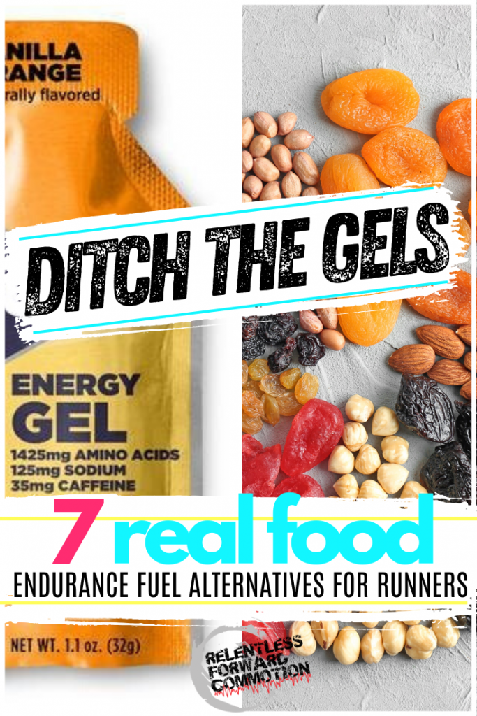Traditional endurance fuels, such as gels and drinks, often cause gastrointestinal distress in runners.  Here are 7 real food endurance fuel alternatives.