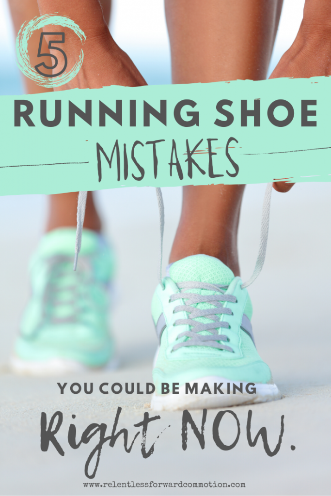 Running shoe mistakes are unfortunately common, and can lead to discomfort or even injury.  Are you in the correct pair of running shoes for your feet?