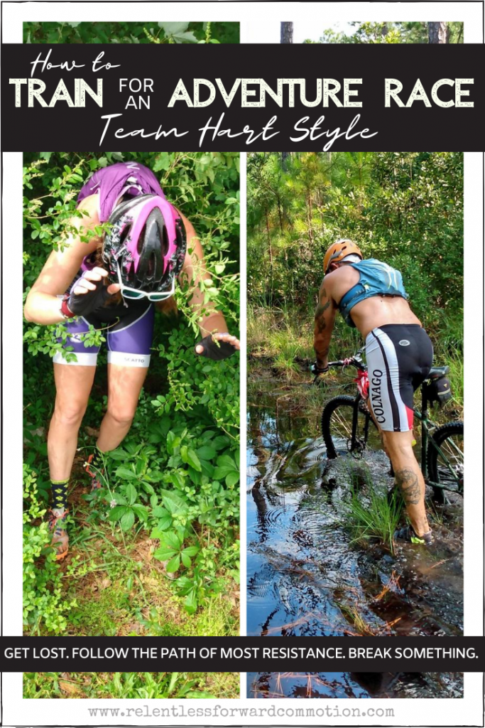 How to Train for an Adventure Race - Team Hart Style