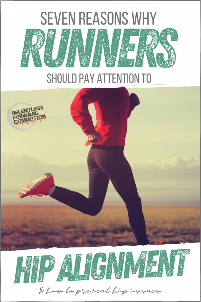 Hip alignment matters when it comes to injury prevention for runners. Here's a breakdown - of how the body breaks down - when hips are misaligned.