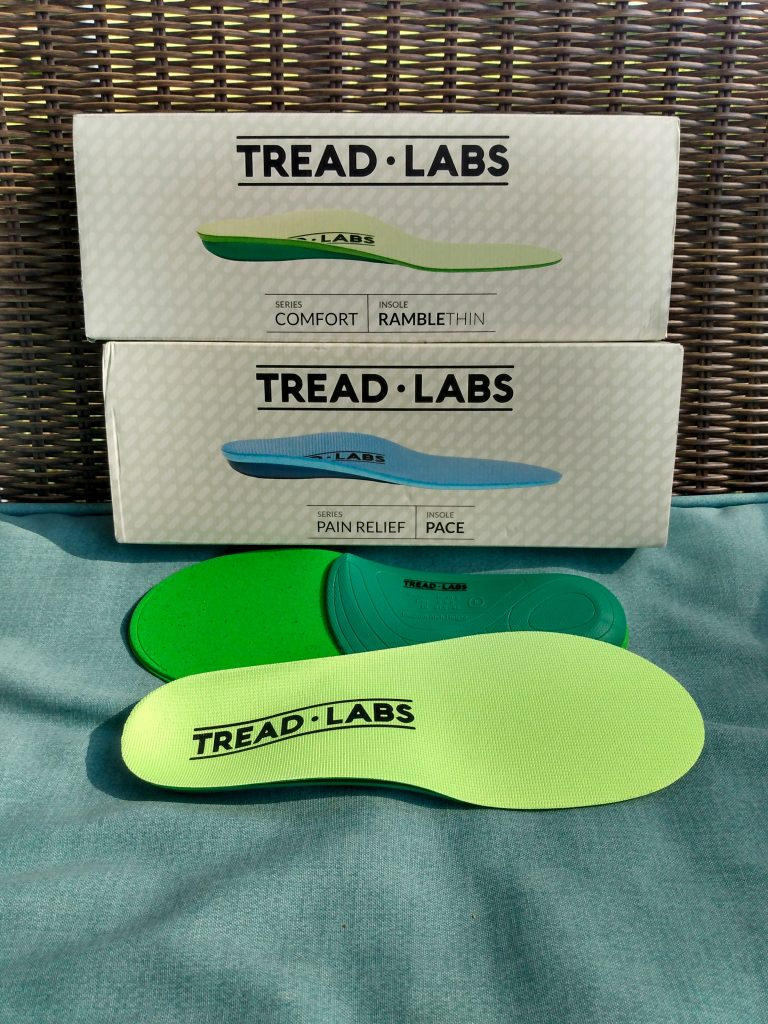 Tread Labs Comfort and Pain Relief insoles