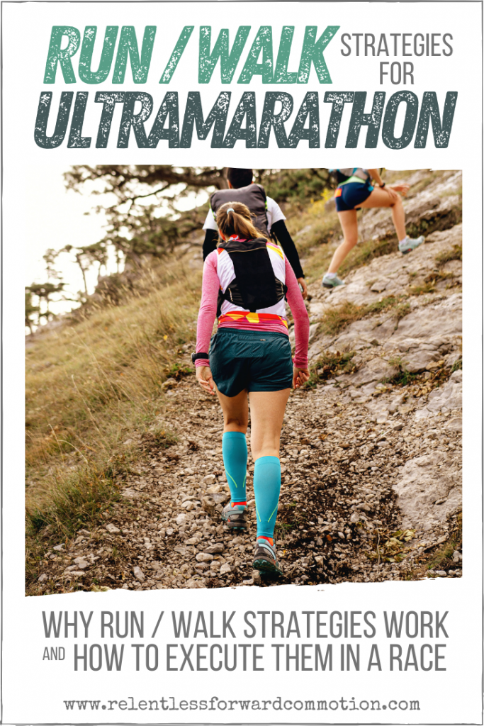 Countless athletes utilize run/walk strategies for ultramarathon success.  Learn the science behind run/walking, and how to execute it on race day.