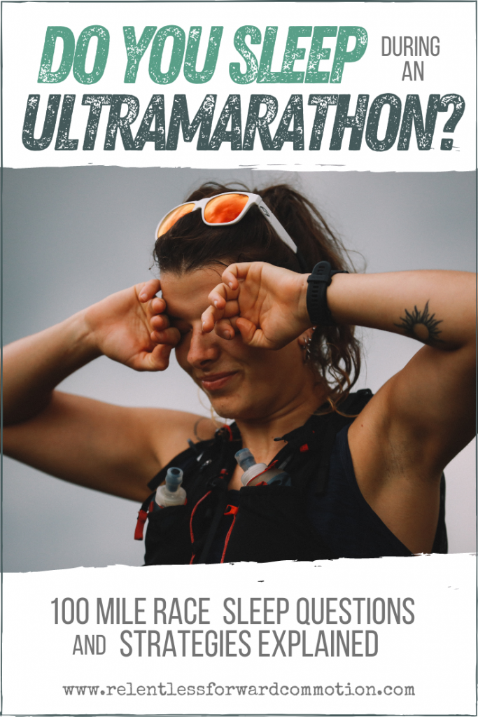 Do mid ultramarathon naps actually work? Should you sleep during a 100 mile race?  Ultra sleep strategies & effectiveness explained.