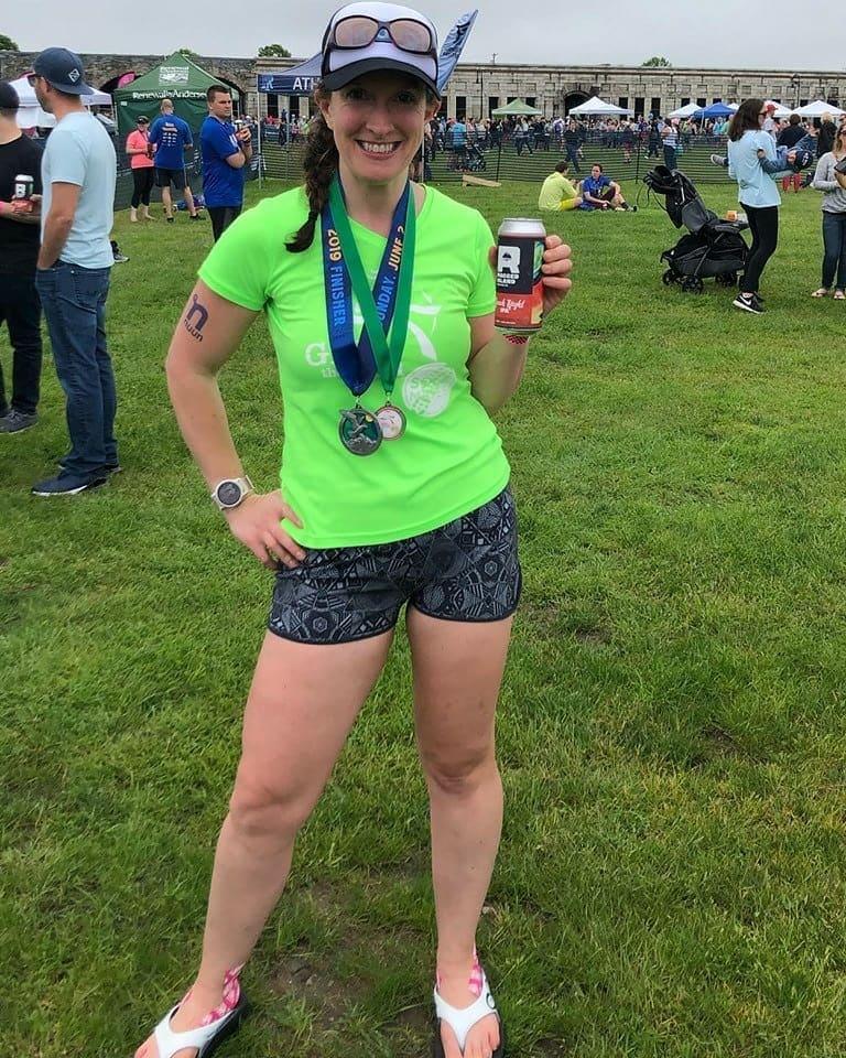 Samantha Zeigler talks about her running streak