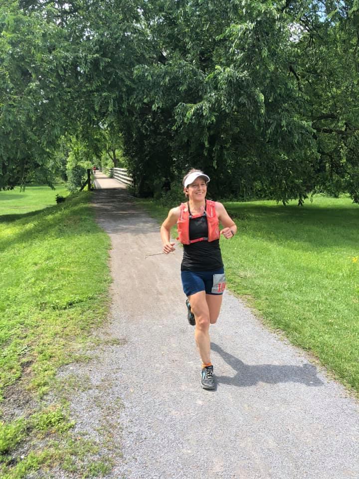 Carol Plummer talks about run streaking